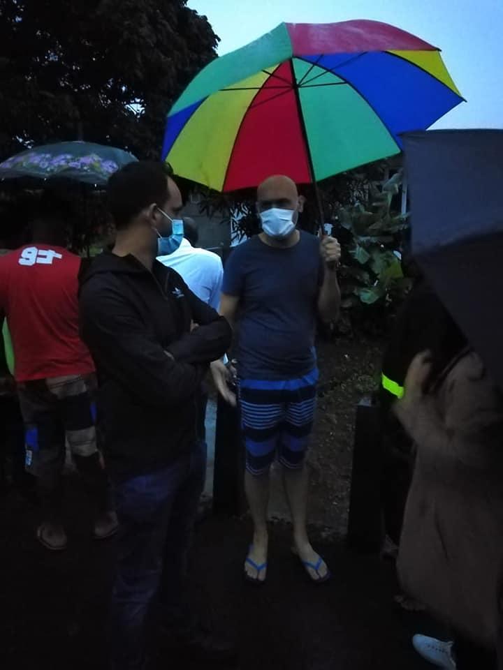 "Vu à Savanne, Jagutpal, Rawoo et Padayachy ""Singing In The Rain"""