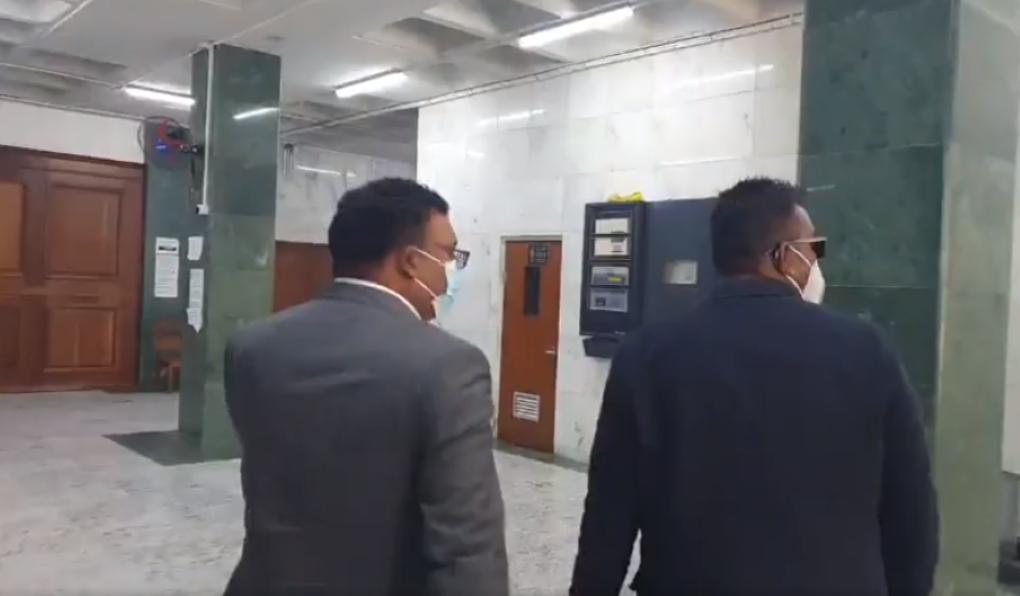 Private Prosecution de le veuve Kistnen : Yogida Sawmynaden en cour ce matin