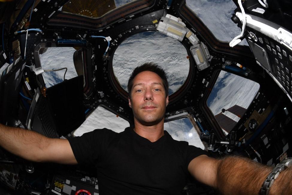 A bord de l'ISS, l'astronaute Français Thomas Pesquet devrait passer ce soir au dessus de La Réunion
