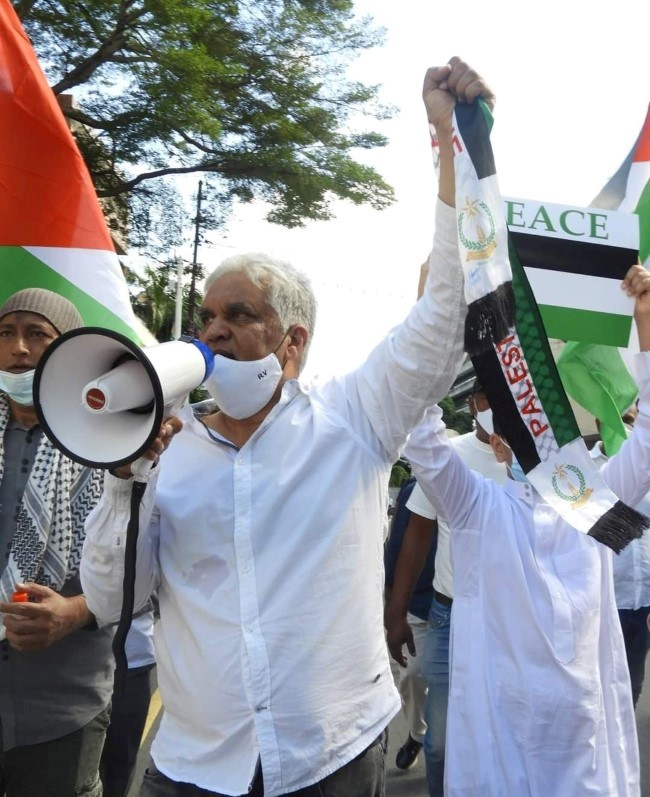 Manifestation de soutien à la cause palestinienne : L'homme de loi Rama Valayden interpellé par la police
