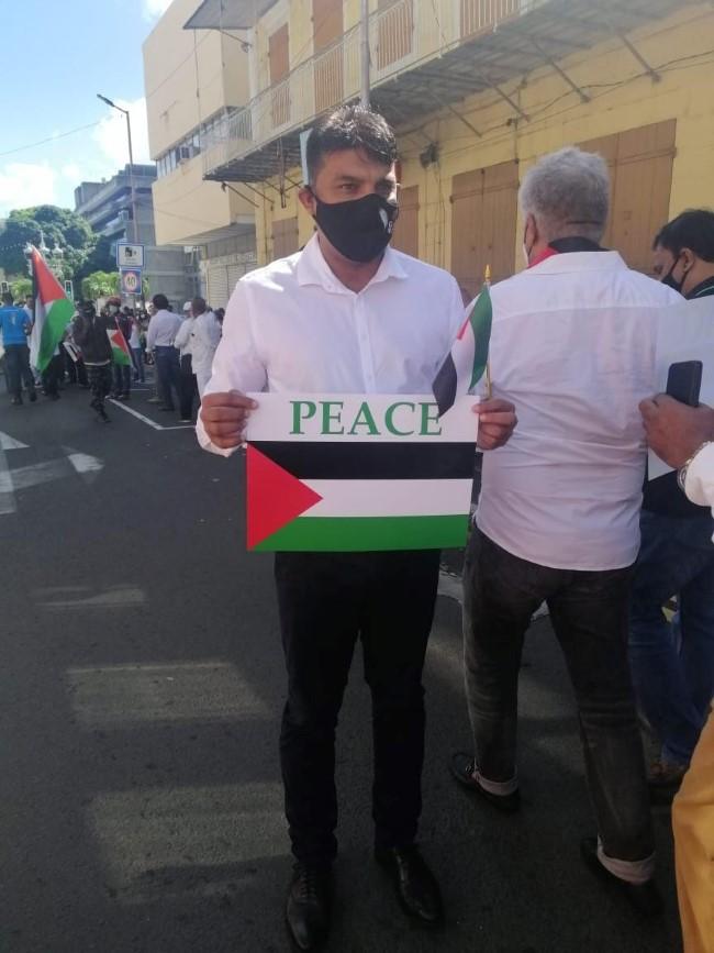 Manifestation de soutien à la cause palestinienne : Ehsan Juman sur la liste du CCID