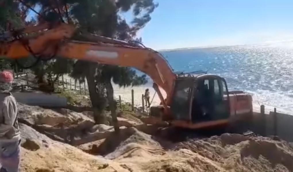 """Belle-Mare : arrêt des travaux du projet """"Aurore Villas"""" par le ministère de l'Environnement"""