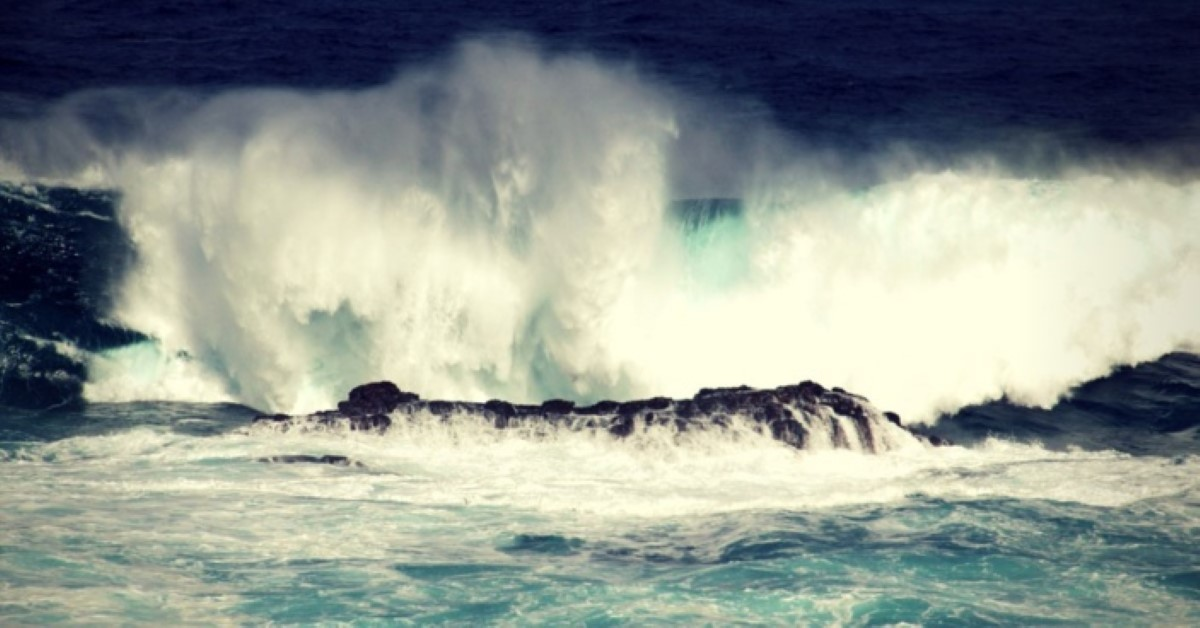 Avis de fortes houles sur Maurice, Rodrigues et l'île de Saint-Brandon à partir de lundi matin