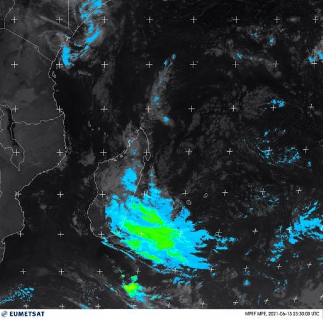 La météo du lundi 14 juin 2021