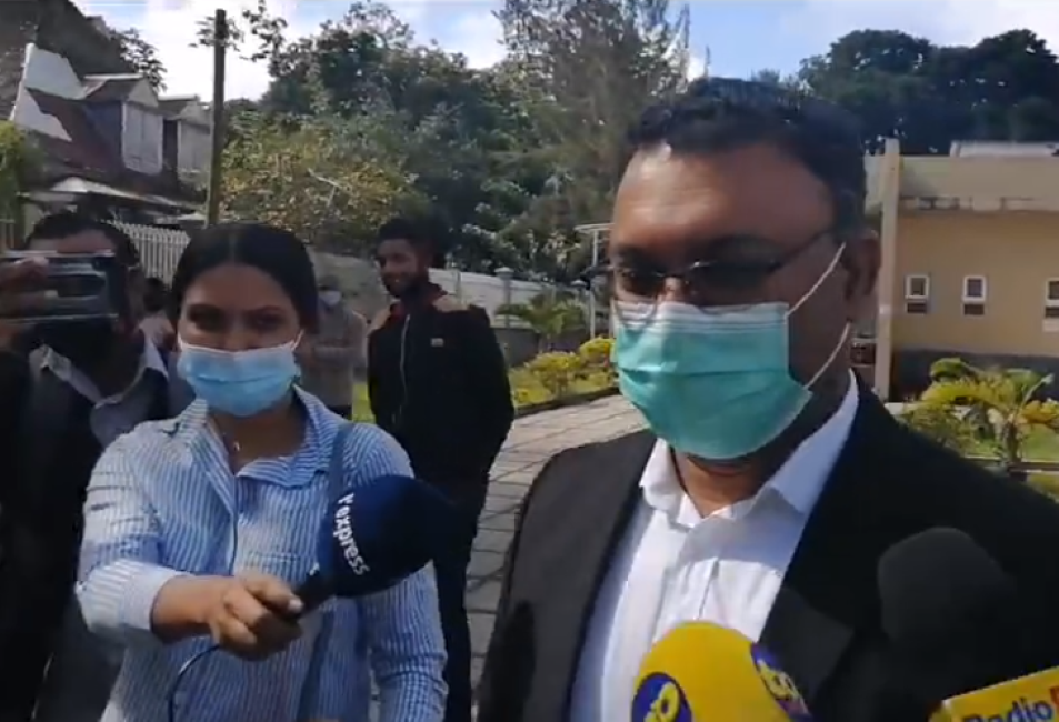 Affaire Kistnen : Yogida Sawmynaden de nouveau au tribunal de Moka