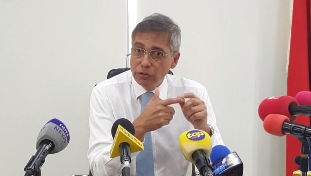 Duval répond à Padayachy en conférence de presse