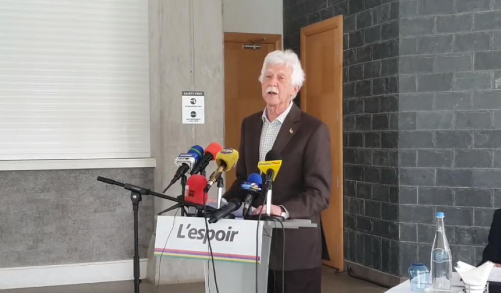 Bérenger évoque une première dans l'histoire électorale de Maurice