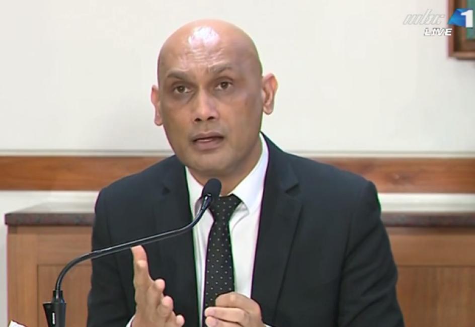 Selon Kailesh Jagutpal sur 1 509 cas actifs à la Covid-19, seuls 8 présentent des symptômes
