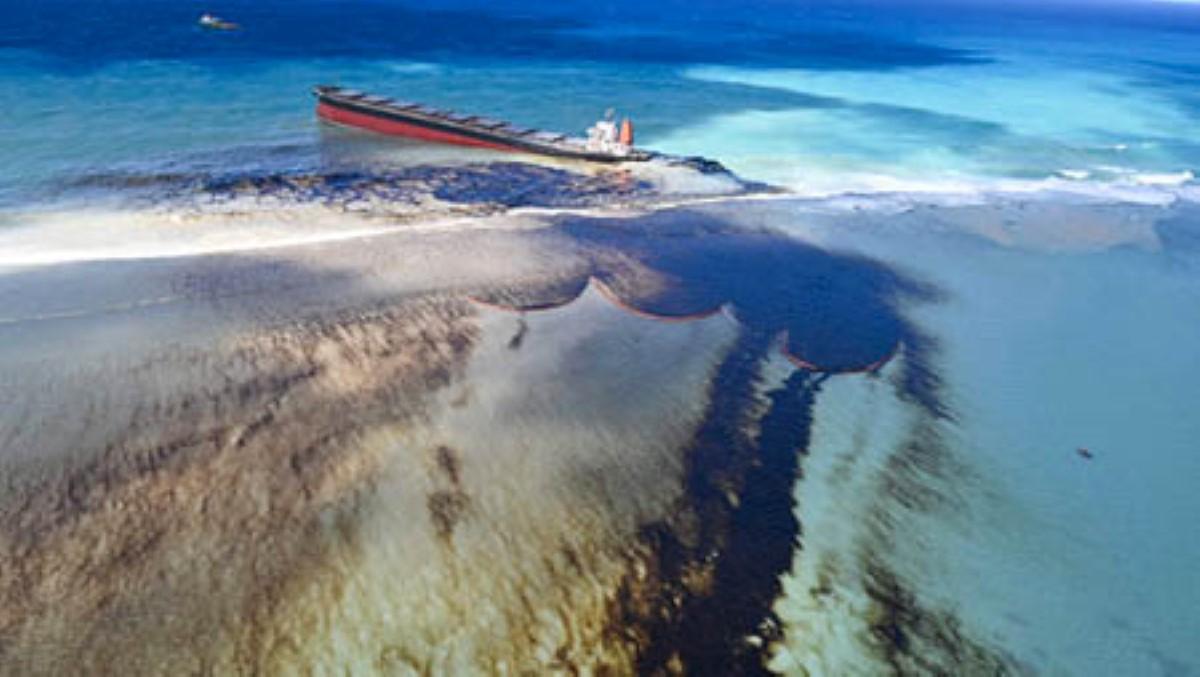L'échouage du MV Wakashio : « Le premier déversement majeur de fuel à très faible teneur en soufre au monde »