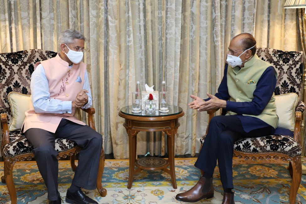 Navin Ramgoolam en Inde : Rencontre avec Jaishankar et non Modi