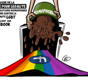 [KOK] Le dessin du jour : Stop à l'Homophobie et à la Haine !