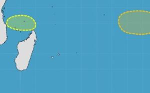 Activité cyclonique : Deux zones suspectes sous surveillance la semaine prochaine