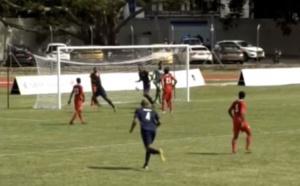 JIOI 2019- Football : La Réunion remporte 4 à 0 face aux Maldives