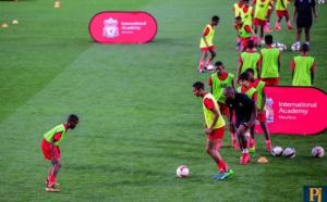 Côte d'Or : Lancement officiel de la Liverpool Football Academy