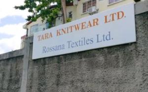 Les salaires seront versés aux employés de Tara Knitwear et Rosana Textiles