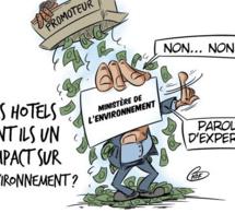 [KOK] Le dessin du jour : La plage de Beau Champs privatisée par le gouvernement pour un énième projet hôtelier !