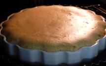 La recette d'Emmanuelle : Le flan de fruit à pain à la vanille