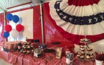 L'indépendance des États-Unis, qui est célébrée le 4 juillet a eu lieu au Macarty House à Vacoas