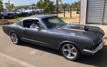 Just arrived in Mauritius ! A 1965 V8 Classic Ford Mustang