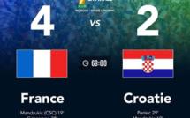 Mondial 2018 : France 4- Croatie 2 encore quelques minutes avant le coup du sifflet final
