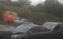 Carambolage à Pailles ce mardi après-midi, embouteillage prévu