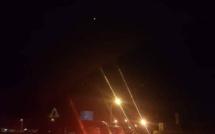 L'image du soir : Pagaille et embouteillage à Flic-en-Flac