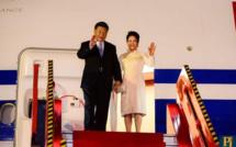 [Diaporama] L'arrivée du Président de la République populaire de Chine, Xi Jinping à Maurice