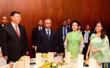 [Diaporama] La visite de courtoisie de 24h du couple présidentiel chinois à Maurice