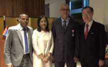 L'ambassade du Japon honore Aslam Jeewa