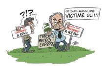 [L'actualité vue autrement]  : Le ministre de la Santé, victime du Metro Express