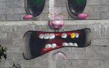 [Vidéo] Street Art : SYRK de passage à Maurice a signé des fresques murales