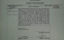 Une Precautionary Measure est logée contre le ministre de la Jeunesse et des Sports