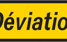 Déviation routière : l'autoroute M1 du fly-over Caudan à la Place d'Armes fermée à la circulation