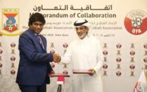 La Mauritius Football Association (MFA) signe un accord de coopération avec le Qatar Football Association