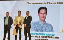 L'Entrepreneur de l'année 2018 – Tecoma Award : Christopher Rainer de MariDeal.mu & PriceGuru.mu