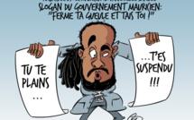 L'actualité vu par KOK : Giovanni Merle suspendu par l'ambassade mauricienne à Washington