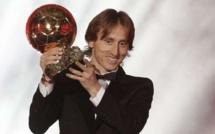 Luka Modric est le premier Croate à remporter le Ballon d'Or