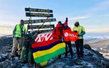 7 Summits Africa-Team Mauritius : Deux Mauriciens sur le Toit de l'Afrique !