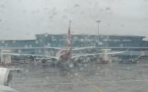 Déluge à Plaisance : Le trafic aérien a été perturbé