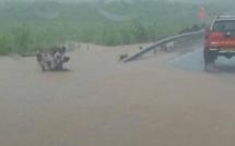 [Vidéo] Innondation Chemin Quartier Militaire/ L'Esperance