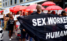 [Diaporama] Marche pacifique pour l'élimination des violences faites aux travailleurs-ses du sexe