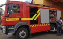 Les pompiers dans la rue le 30 janvier