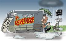 L'actualité vu par KOK : Effacer les graffitis ou construire un abribus ?