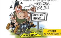 L'actualité vu par KOK : Rezistans Ek Alternativ refoulé à Rivière Noire