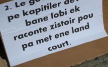 Trois personnes ont entamé une grève de la faim afin de réclamer justice sur leurs terres