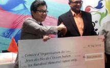 Les Jeux des Iles sous les couleurs de la Chine : l'Ambassade de Chine offre Rs 600 000