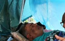 Clency Harmon entame son 14ème jour de grève de la faim