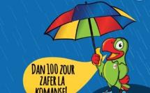Les averses forcent le renvoi du compte à rebours à J-100 des Jeux des îles