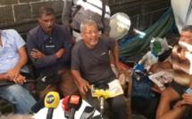 Clency Harmon met fin à sa grève de la faim après 16 jours