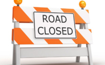 Metro Express : La rue Reverend Lebrun à Beau-Bassin fermée